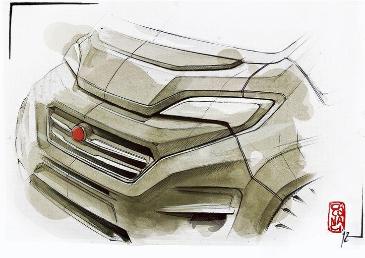 #Fiat #Ducato 2014 #Design #Cardesign