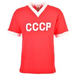 Soviet Union (CCCP) 1960s Kids Retro Football CCCP 1960s Childrens Retro Football ShirtThis classic shirt was worn by the Soviet national team throughout the 1960s in which they made had there best ever finish of 4th in 1966. http://www.MightGet.com/may-2017-1/soviet-union-cccp-1960s-kids-retro-football.asp