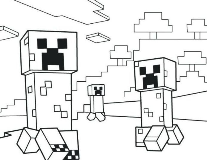 Minecraft Creeper Malvorlagen Printable Minecraft Creeper Coloring Pages Minecraft Birthday Vorlag Minecraft Coloring Pages Minecraft Printables Coloring Pages