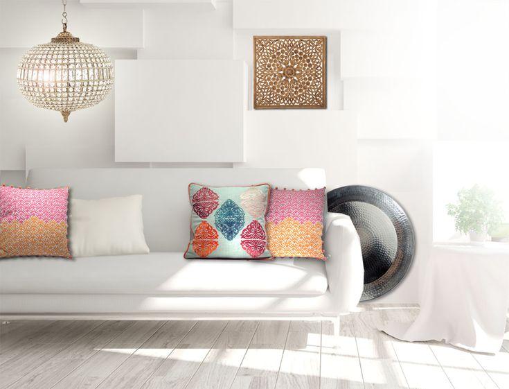 pink orientalisch wohnzimmer | badezimmer & wohnzimmer, Moderne deko