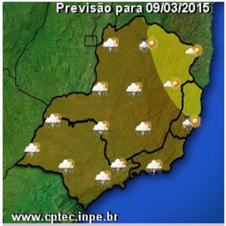 JORNAL O RESUMO - VEJA A PREVISÃO PARA HOJE NA REGIÃO DOS LAGOS E SUDESTE TEMPO E TEMPERATURA: Previsão para o dia 9 de março de 2015