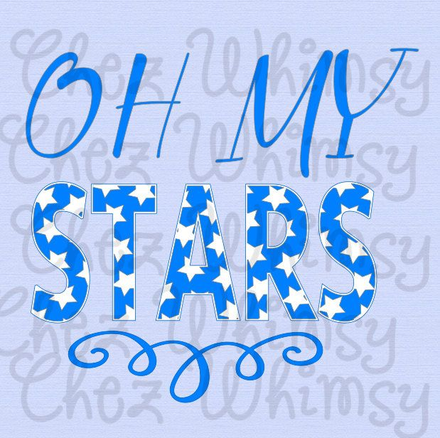 Stars SVG, 4th of July SVG, Oh My Stars Design, Patriotic Svg, July 4th Svg, Fourth of July Stars Design, Pdf, Png, Eps, Dxf Cutting Files by ChezWhimsy on Etsy