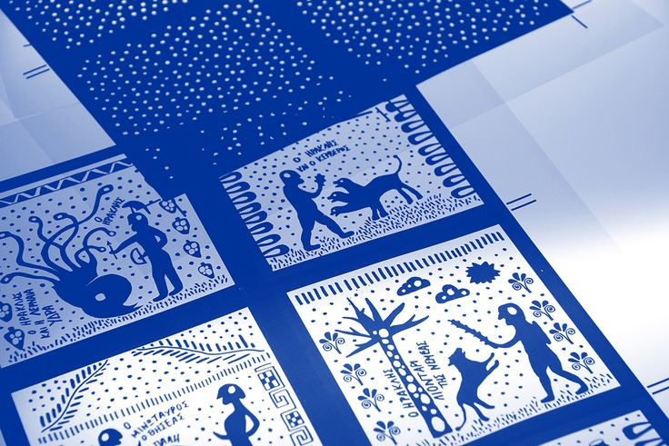 Illustrations from Ancient Greek Mythology on Behance