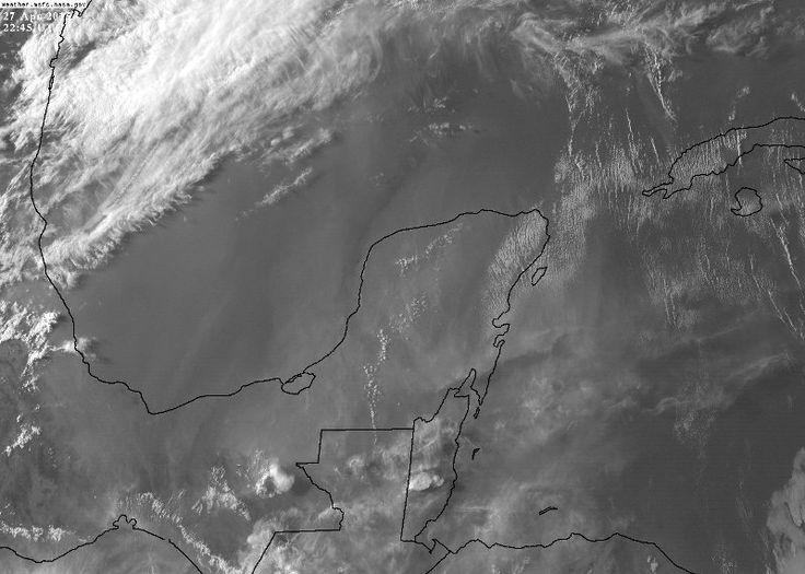 Este lunes se reportan 43.3 grados en Mérida. Pronóstico de lluvias a partir de este martes y miércoles por frente frío