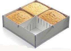 "Alan Silverwood 12"" x 4"" deep Multisize Foldaway Cake Pan Alan silverwood UK http://www.amazon.com/dp/B000GW89M8/ref=cm_sw_r_pi_dp_xdXawb0JFB85C"