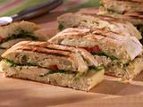 Chicken Pesto Panini - looking for recipes to use on the Cuisnart Griddler(tm).