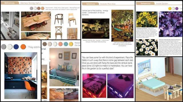 Created A Furniture And Interior Design Process Book For City Center