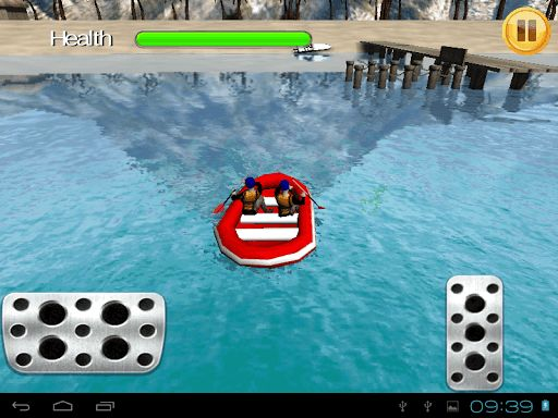 "Rafting Boats Parking 3D TAB - the new rafting game, also designed for tablet! That's a chance to learn ship parking 3d - challenge accepted!<p>HOW TO PLAY: tilt the screen to turn the cruise ship, tap the pedals to drive! Be careful: if you run out of health points, it means ""Game Over!""<p>If you're a fan of river rafting games and sailing simulation - try our ship parking game! Rafting boats are even more exciting than a parking mania car game you are used to! This river raft parking sim…"