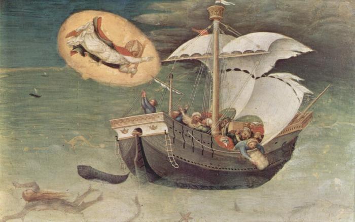 St. Nicolaas beschermheilige van de zeevaarders