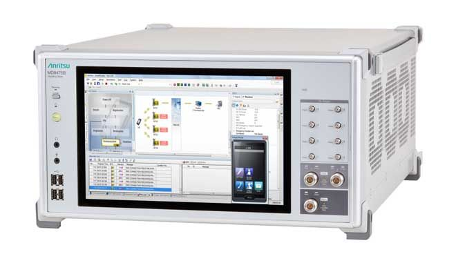 Industry's First All-in-One Signalling Tester Enabling LTE-Advanced 1-Gbps IP Throughput Evaluation