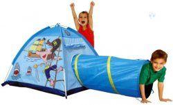 Namiot dziecięcy z tunelem 2w1 Pirat