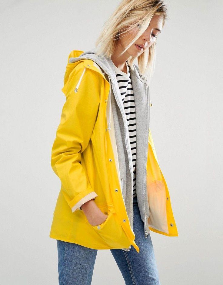 Rains Waterproof Jacket - Yellow