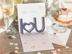 Schön Liebesgeständnis In 3D   Eine Karte Zum Valentinstag