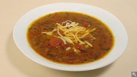 Soupe d'hiver aux lentilles vertes: ingrédients, préparation, truc, information nutritionnelle