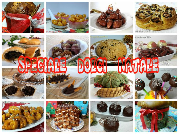 #gialloblogs #ricetta #foodporn Ricette Dolci Natale-Raccolta Speciale | In cucina con Mire
