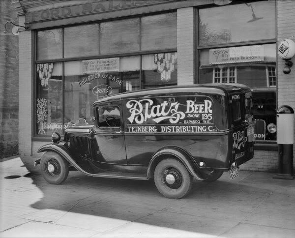 Blatz Beer Truck.