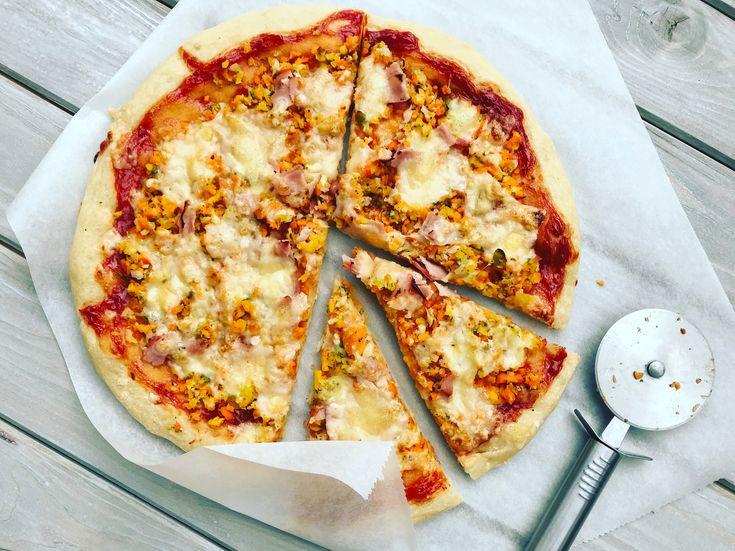 Domácí nadýchaná pizza