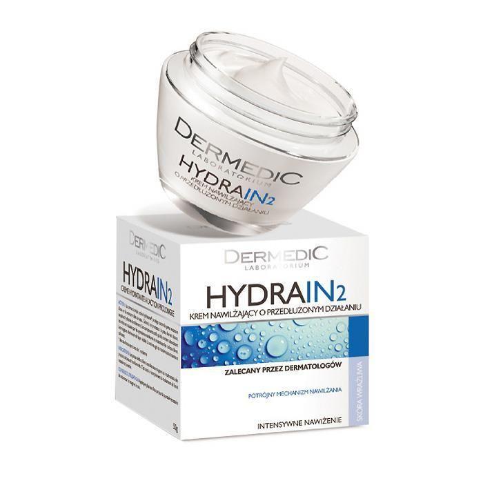 DERMEDIC HYDRAIN2 Moisturising Cream with PROLONGED ACTION KREM NAWILŻAJĄCY 50g