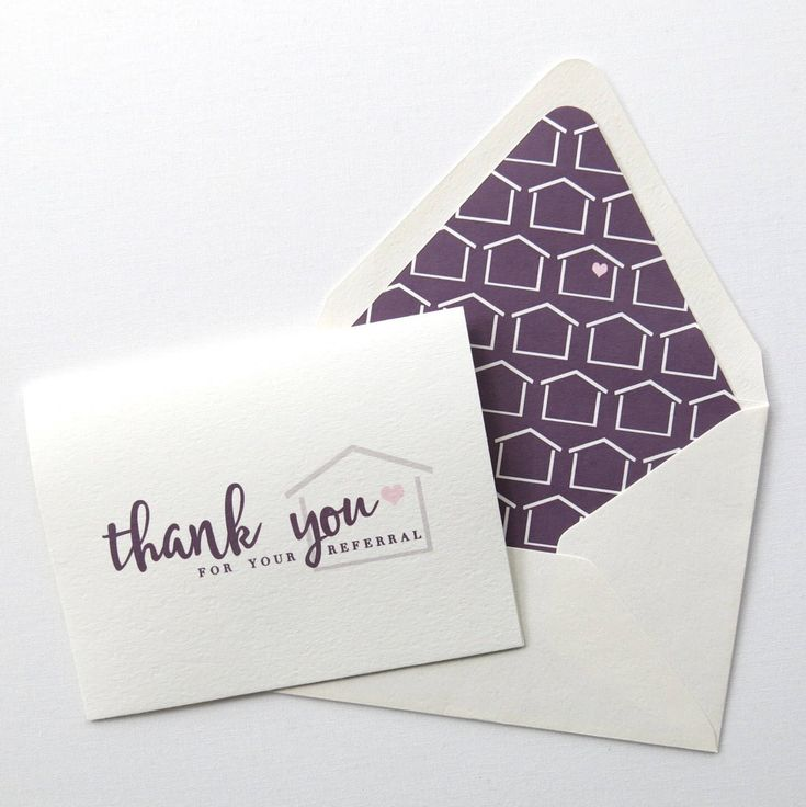 14 best Real Estate Agent Thank You Cards images on Pinterest ...