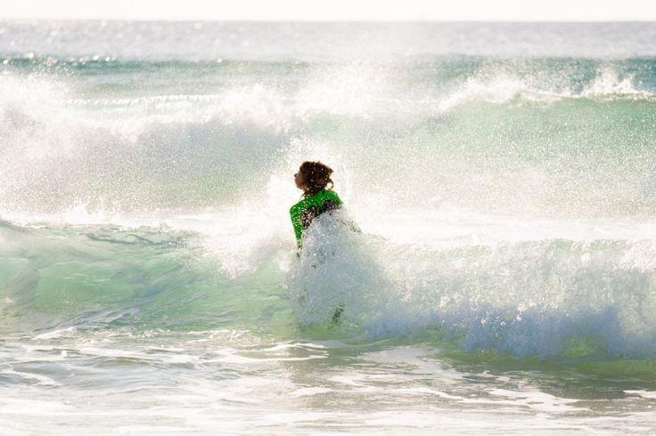 Winter swimming in Tarifa   Zimní plavání v Tarifě