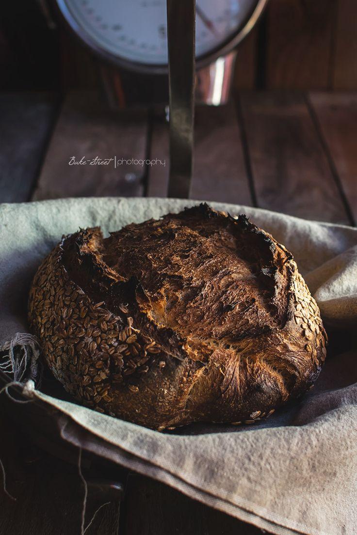 Pan de centeno y trigo con avena - Bake-Street.com