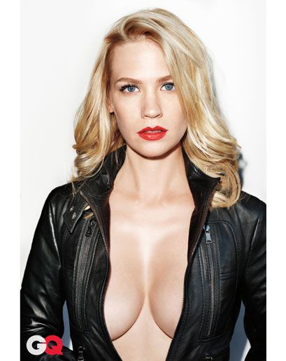 January Jones by Terry Richardson for GQ November 2009
