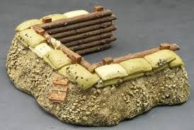 Image result for ww1 trench model