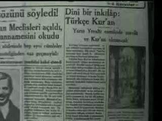 Türkçe Ezanın Tarihçesi |6 Mart 1933 Sâlânın Türkçe okunmasına karar verildi-Cumhuriyet kurulduktan sonra CHP döneminde 18 sene boyunca ezan Türkçe okunmuştur. 1950 yılında Türkiye'nin ilk demokratik genel seçimleri sonrasında, %52.67 oy oranı tek başına iktidara gelen Demokrat Parti, Türkçe ezan ile ilgili olarak çalışmalara başladı.