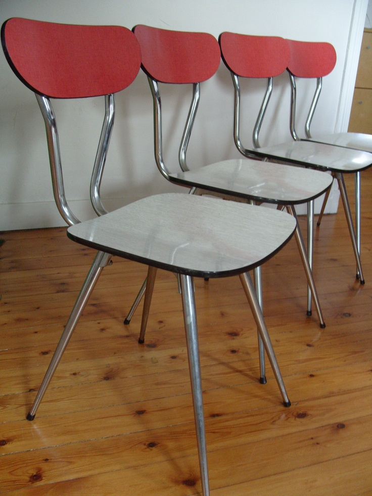 Vintage french formica chair.