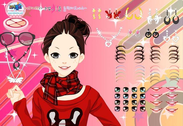 Ta dziewczyna pragnie być oryginalną. Twoja kwestia to dobór dla niej właściwych kosmetyków i ozdób oraz zrobienie fajnego makijażu.  http://www.ubieranki.eu/gry/1095/oryginalna-dziewczyna.html