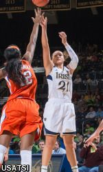 Notre Dame senior All-America guard Kayla McBride (Erie, Pa./Villa Maria Academy) and former Fighting Irish All-America guard Skylar Diggins ('13) are among 33 players who have been named to the 2014-16 USA Basketball Women's National Team pool, from which the 2014 USA World Championship Team and (if the U.S. qualifies), the 2016 U.S. Olympic Team will be selected, it was announced Monday by USA Basketball.