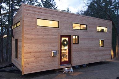 Tiny House Build Exterior - Tiny House Build