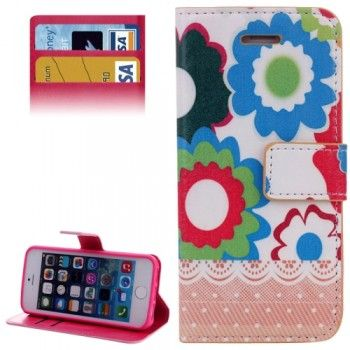 Stylish Flower Pattern Case for iPhone 5 & 5S