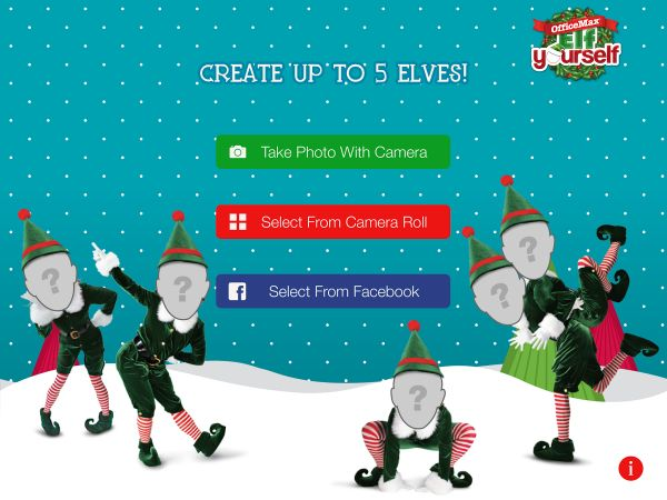 Elf Yourself App by OfficeMax Released for Android