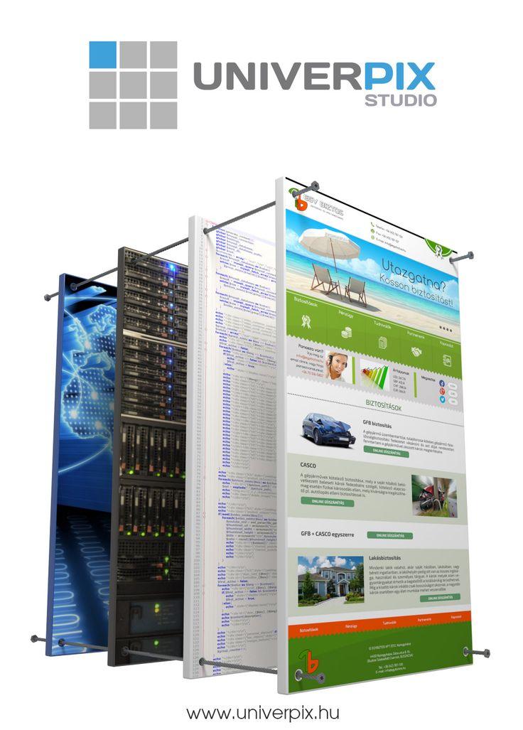 Univerpix Studio - Weblap készítés