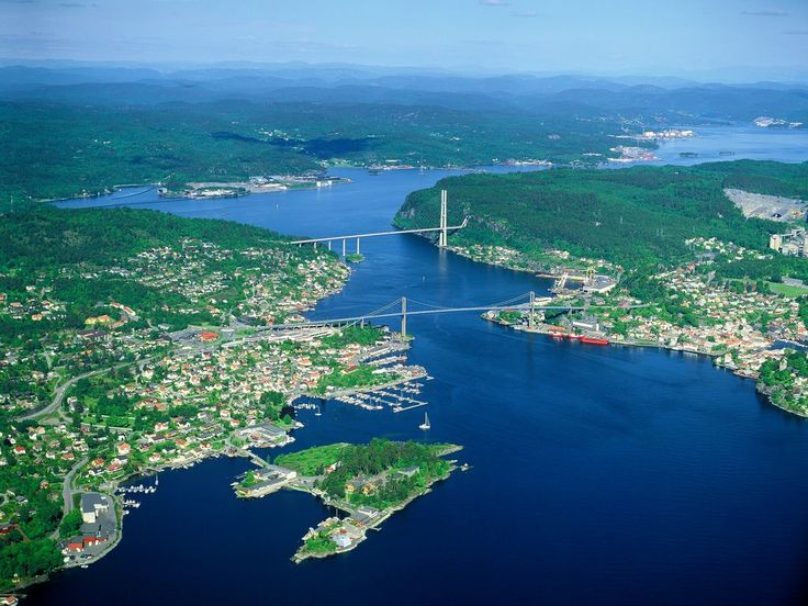 Interesting facts & features of Norwegian fjords (part 8)   Photo:  Bamble kommune, Flickr.com, Licence CC 2.0