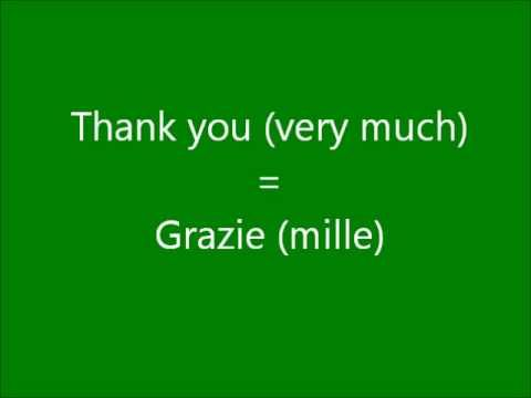 Learn a Language - Let's Learn Italian Part 1 - Get Free Italian Lessons Here