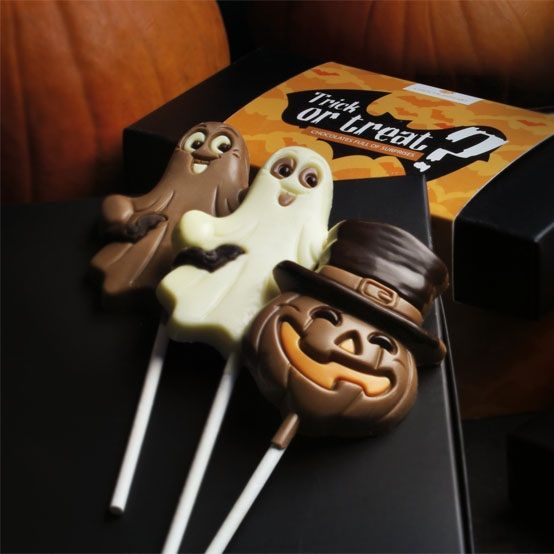 Trick or treat? #chocolate  #chocolissimo #halloween