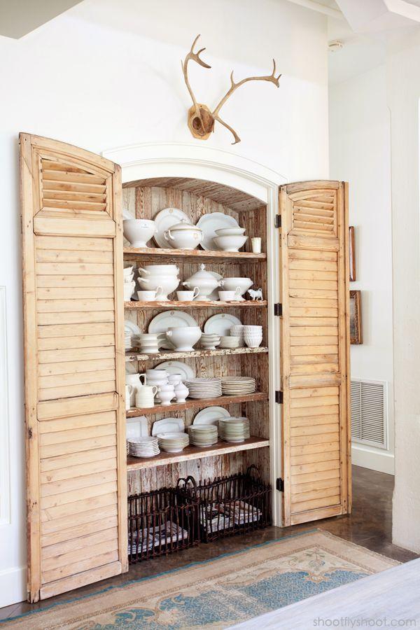 Beautiful Pantry. Dish StorageKitchen StorageChina ...