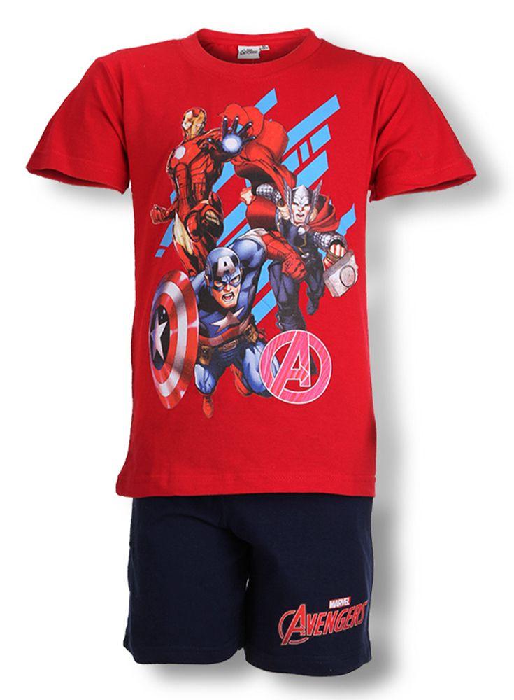 bbabf5e73aa Marvel Avengers short pyjamas #avengers #marvel #pyjamas | Kids ...