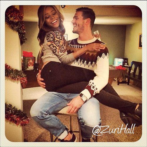 Black woman dating a hispanic man