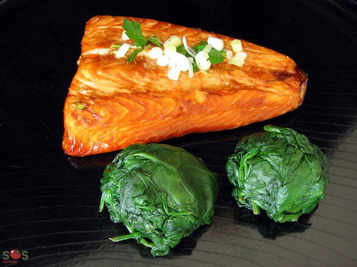 SOSCuisine: #Saumon mariné à l'#orientale  Une façon simple d'apprêter le poisson, avec une touche exotique.