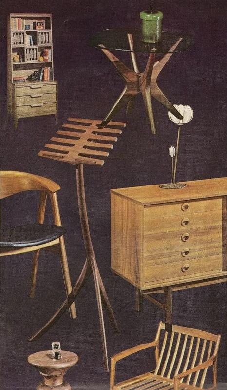 Scandinavian furniture, 1967