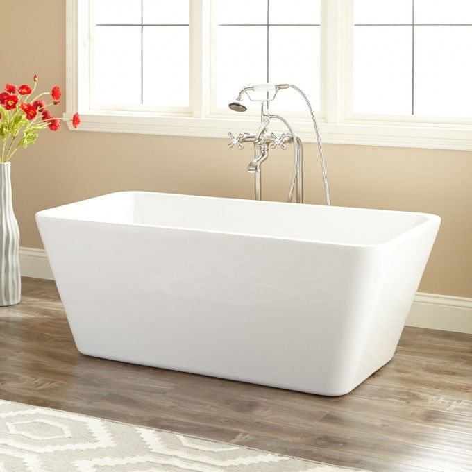 17 best images about option 5 different bathtub on for Best freestanding tub material