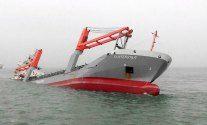 Dutch Freighter 'Flinterstar' Sinks After Collision With LNG Carrier – PHOTOS