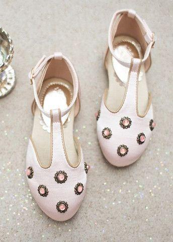 Winnie Shoes in Blush by Joyfolie in New Zealand   Return To Eden Children's Boutique