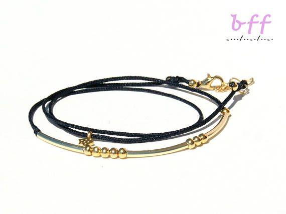 BFF morse code bracelet-Morse code bracelet-Morse code bff-bff