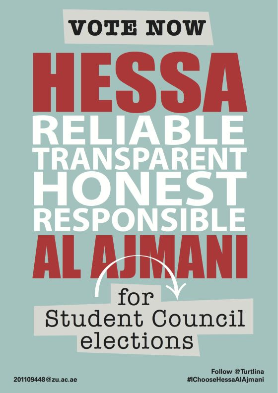 student council poster ideas