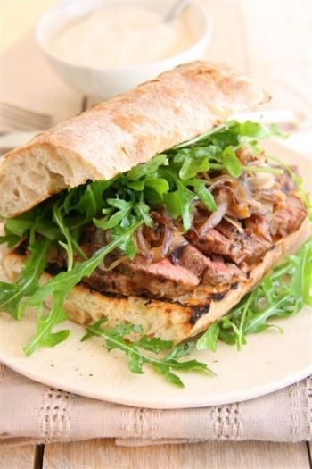 Steak Sandwich recipe at www.nomu.co.za