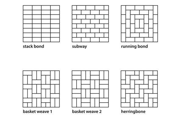 Tile Herringbone Pattern Backsplash Get Creative With